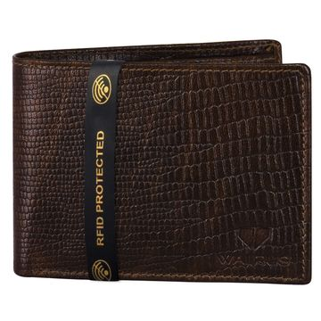 Walrus | Walrus Elite IX Brown Premium Genuine Leather Men Wallet With RFID Protection.