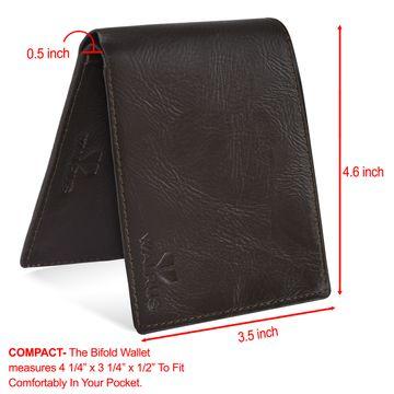 Walrus | Walrus Vet-III Brown Vagan Leather Men Wallet