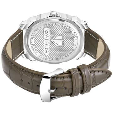 Walrus   Walrus Maverick XII Series White Dial Day & Date Function Men's Watch