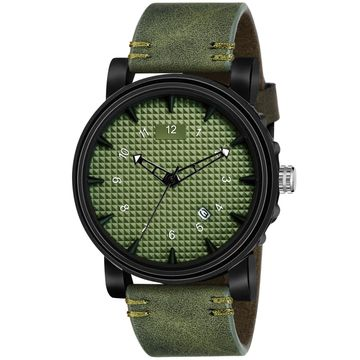 Walrus | Walrus Terrain Series Green Dial Men Wristwatch With Date Function