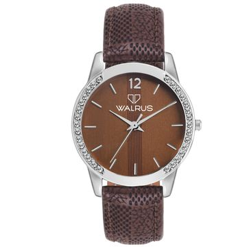 Walrus | Walrus Diana II Series Brown Dial Women Wristwatch