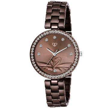 Walrus | Walrus Victoria III Series Brown Dial Women Wristwatch