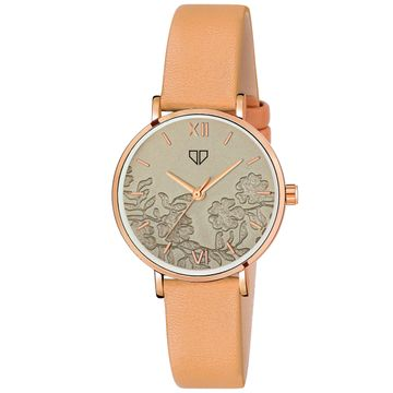 Walrus | Walrus Venice Series Brown Dial Women Wristwatch
