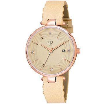 Walrus | Walrus Venice II Series Gold Dial Women Wristwatch