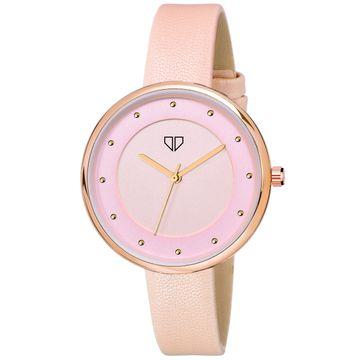 Walrus | Walrus Venice III Series Pink Dial Women Wristwatch