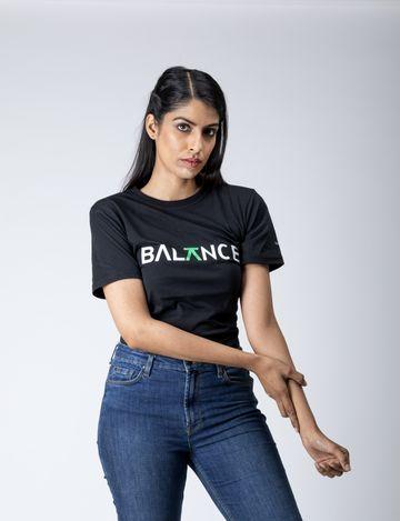 Bottle&Co | Balance Women's Tee Black