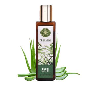 LUXURIATE | LUXURIATE Natural herbal Aloe Vera Face Wash Gel Cleanser for Men and Women,100 ml