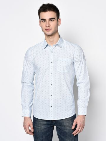 METTLE | Men AQUA Casual Shirts