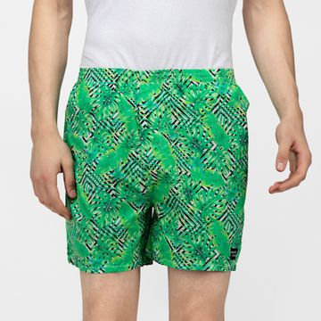Whats Down | Green Tropical Boxers