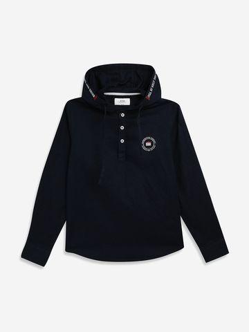OCTAVE   Boys NAVY Casual Shirts
