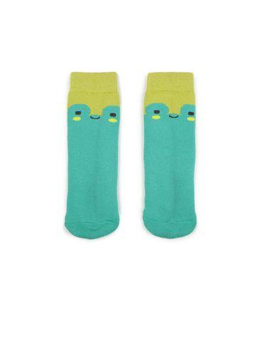 Soxytoes | Soxytoes Frog Cotton Crew Length Blue Kids Socks-Age (2-4 Years)