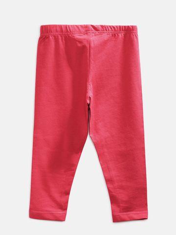 Ethnicity | Ethnicity Ankel Length Fashion Kids Red Knit Legging