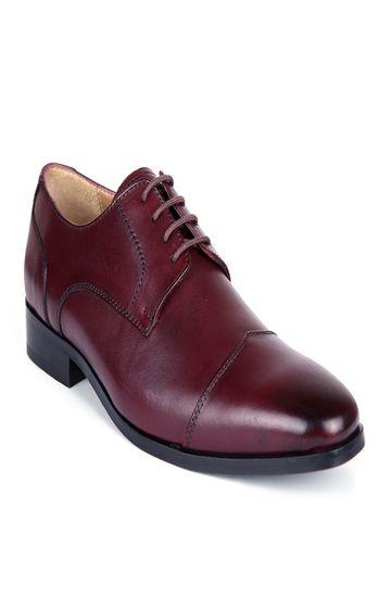 San Frissco | San Frissco Men Louis Cherry Italian Leather Oxford