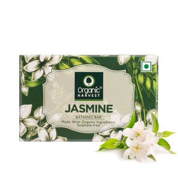 Organic Harvest | Organic Harvest Jasmine Bathing Bar, 110gm