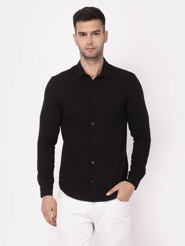 YOONOY | Men Full sleeve stretchable shirt