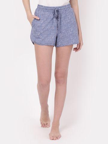 YOONOY | printedf loungewear shorts