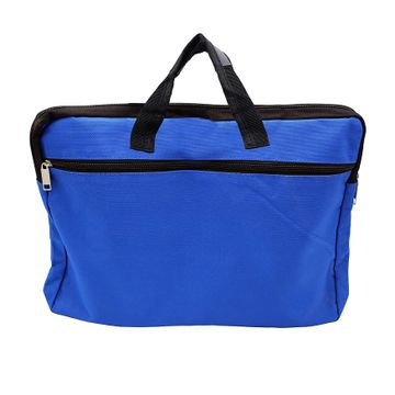 iLife   iLife A3 Legal Zippered Business Document Bag for Multi-Purpose Usage Use for Files Folder Good in Meeting (Dark Blue)