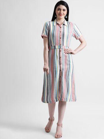 Zink London | Zink London Women's Multi Sheath Dress