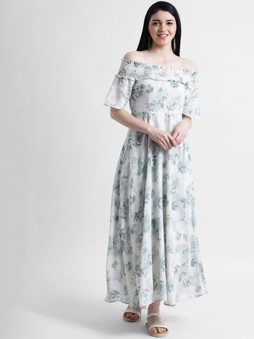Zink London   Zink London Women's Green Maxi Dress