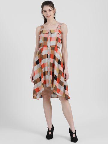 Zink London | Zink London Women's Checked Sheath Dress