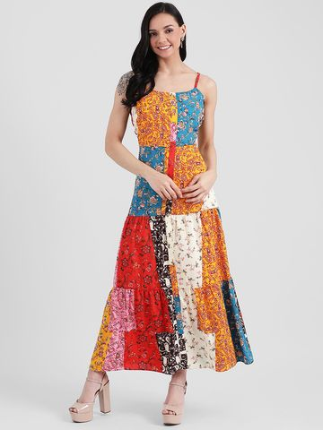 Zink London | Zink London Multi Printed Maxi Dress